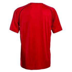 Cawila Scheidsrechter Shirt Referee 15 Korte Mouw Rood Achterzijde