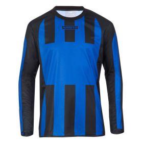 Masita Sportshirt Lange Mouw Inter Royal Blauw-Zwart 1616-2115