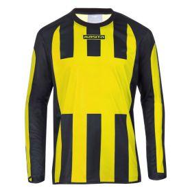 Masita Sportshirt Lange Mouw Inter Geel-Zwart 1616-3015