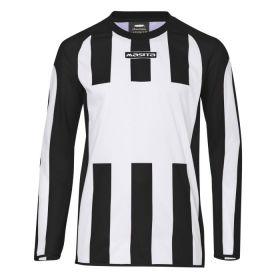 Masita Sportshirt Lange Mouw Inter Wit-Zwart 1616-1015