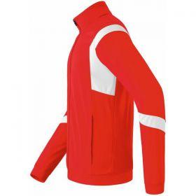 Erima Classic Team Polyesterja Zijkant Rood-Wit 102630_1