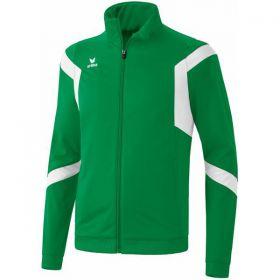 Erima Classic Team Polyesterjas Smaragd-Wit 102632_1