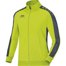Jako Polyesterjack Striker Lime-Antraciet 9316 23