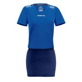 Masita Sportshirt Porto Dames Royal Blauw-Wit 1750-2110
