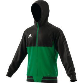 Adidas Tiro 17 Presentatiejas Zwart-Groen BQ2777