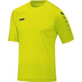 Jako Team Shirt Korte Mouw Lime 4233 23