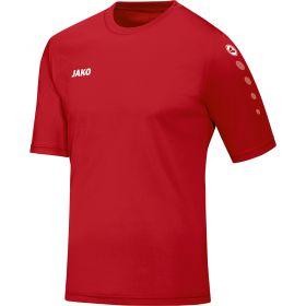 Jako Team Shirt Korte Mouw Rood 4233 01