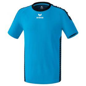 Erima Sevilla Sportshirt Curacao-Zwart 6130704