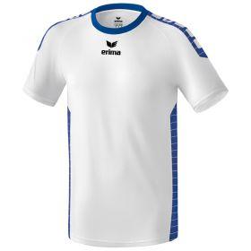 Erima Sevilla Sportshirt Wit-New Royal 6130701