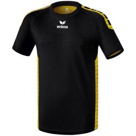 Erima Sevilla Sportshirt Zwart-Geel 6130706