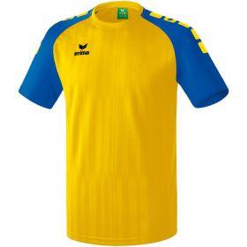 Erima Tanaro 2.0 Shirt Korte Mouw Geel-New Royal 313708