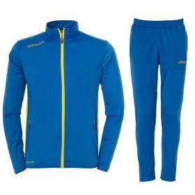Uhlsport Essential Classic Trainingspak Azuur Blauw-Limoen Geel 100516704