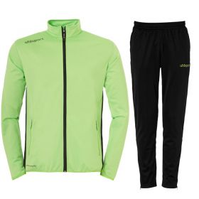Uhlsport Essential Classic Trainingspak Flash Groen-Zwart 100516705