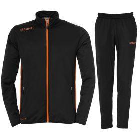 Uhlsport Essential Classic Trainingspak Zwart-Fluo Oranje 100516706