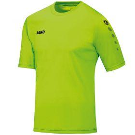 Jako Shirt Team Korte Mouw Neon Groen 4233 25
