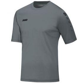 Jako Shirt Team Korte Mouw Steen Grijs 4233 40