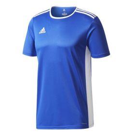 Adidas Entrada 18 Shirt Bold Blauw-Wit CF1037