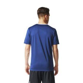 Adidas Entrada 18 Shirt Donker Blauw-Wit CF1036 Achterzijde