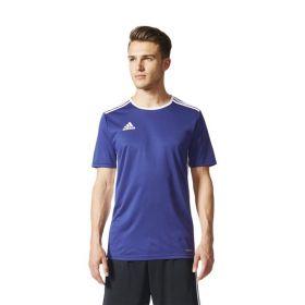 Adidas Entrada 18 Shirt Donker Blauw-Wit CF1036 Model