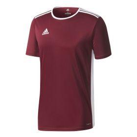 Adidas Entrada 18 Shirt Maroon-Wit CD8430