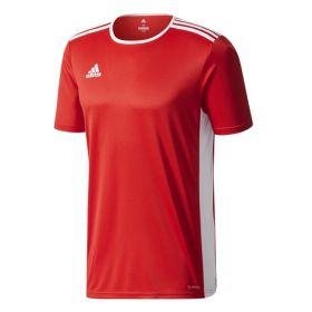 Adidas Entrada 18 Shirt Power Rood-Wit CF1038