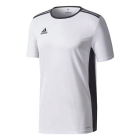 Adidas Entrada 18 Shirt Wit-Zwart CD8438