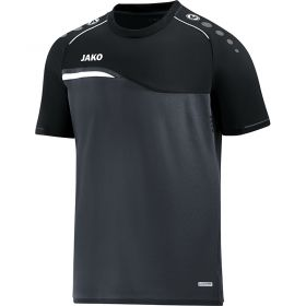 Jako Competition 2.0 T-Shirt Antraciet-Zwart 6118 08
