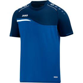 Jako Competition 2.0 T-Shirt Royal Blauw-Zwart 6118 49