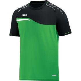 Jako Competition 2.0 T-Shirt Soft Groen-Zwart 6118 22