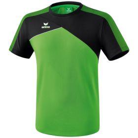 Erima Premium One 2.0 T-Shirt Groen-Zwart-Wit 1081805