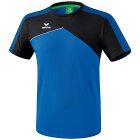 Erima Premium One 2.0 T-Shirt Kind New Royal-Zwart-Wit K1081801