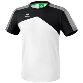 Erima Premium One 2.0 T-Shirt Wit-Zwart-Wit 1081803