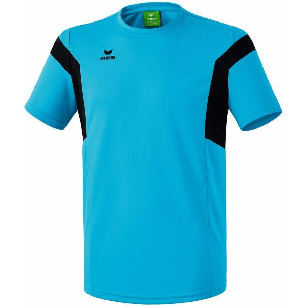 Erima Classic Team T-Shirt Curacao-Zwart Maat 140