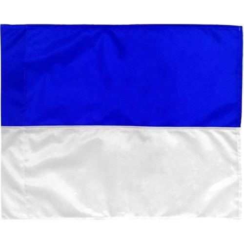 Hoekvlag Blauw-Wit