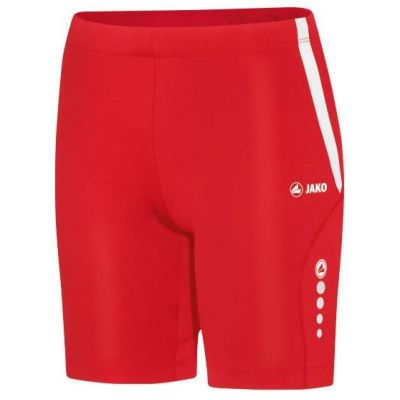 Jako Short Tight Athletico Dames Rood-Wit Maat 42