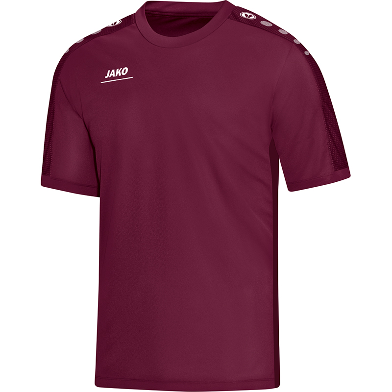 Jako Striker T-Shirt Bordeaux Maat 140
