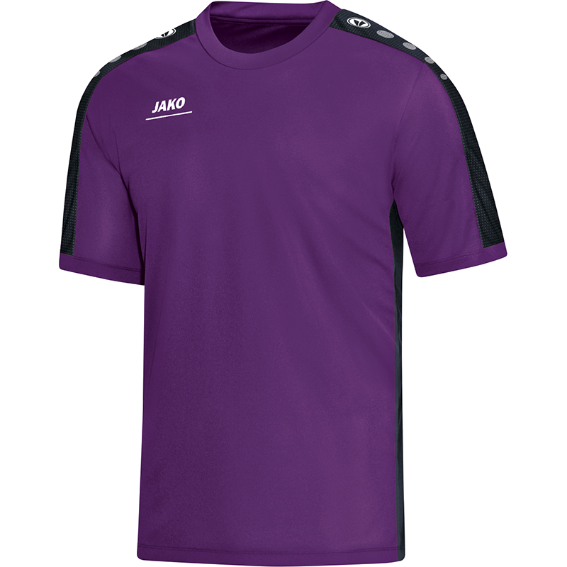 Jako Striker T-Shirt Paars-Zwart Maat 140