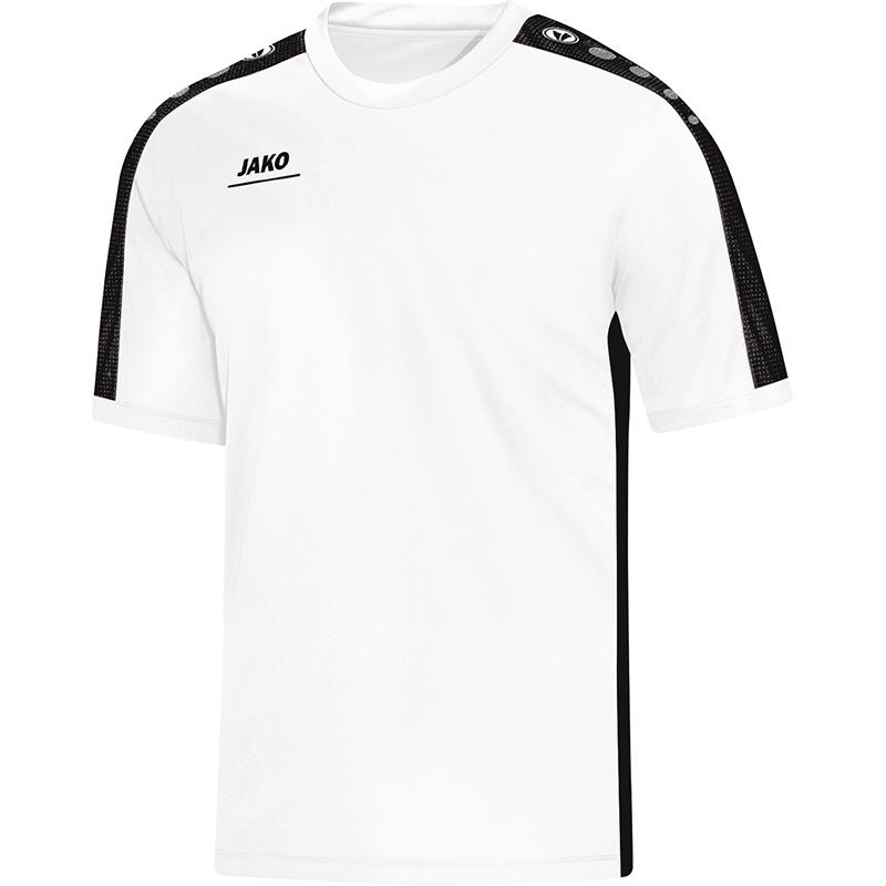 Jako Striker T-Shirt Wit-Zwart Maat 152