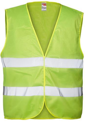 Joggy Safe Organisatie-Veiligheidsvest Geel Blanco
