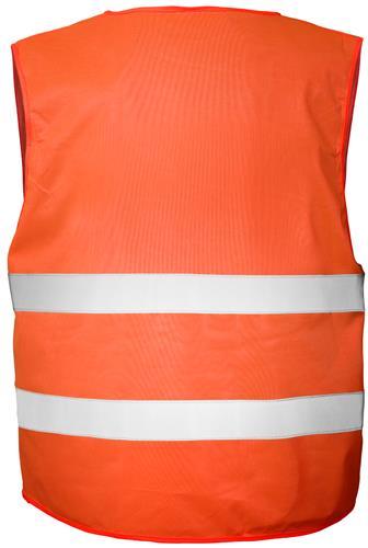 Joggy Safe Organisatie-Veiligheidsvest Oranje Blanco