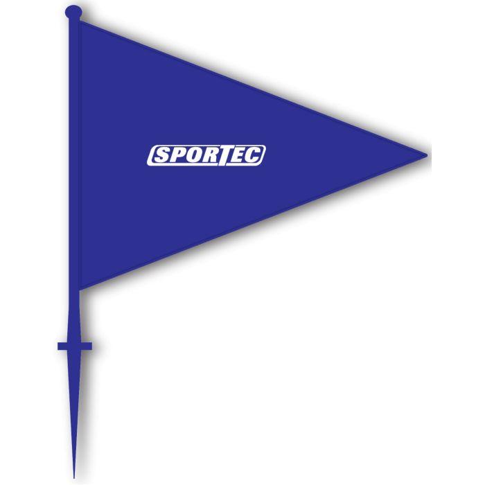 Markeringsvlaggen Blauw
