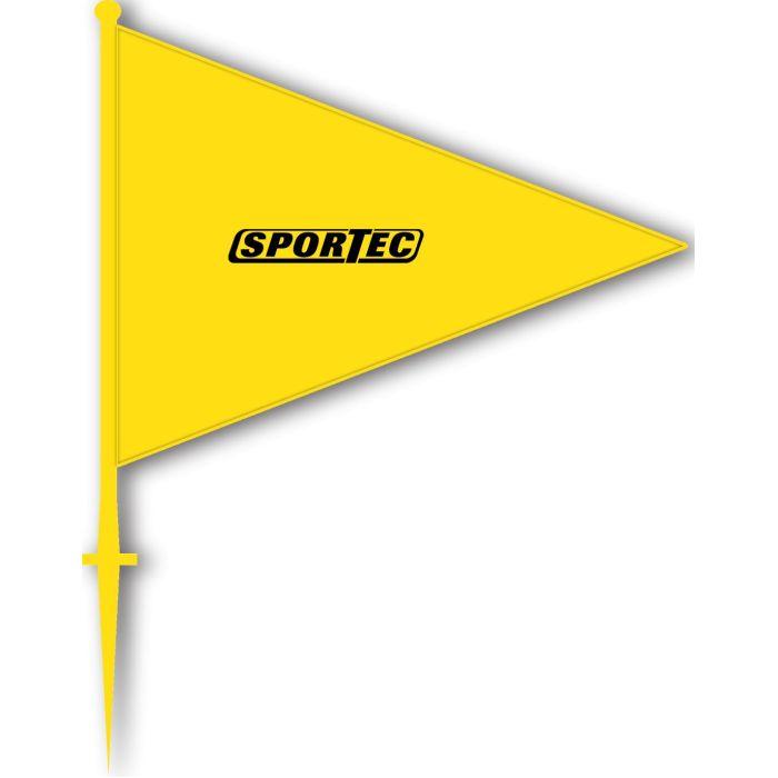 Markeringsvlaggen Geel