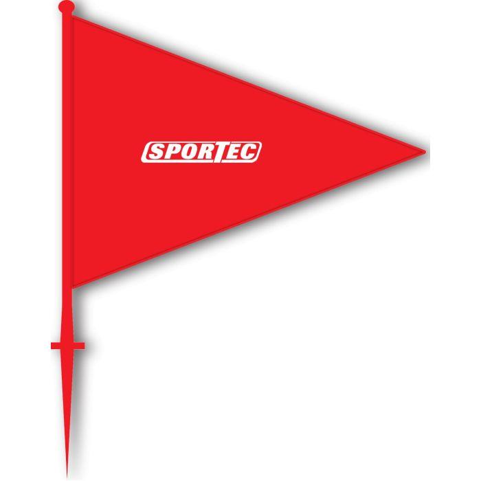 Markeringsvlaggen Rood