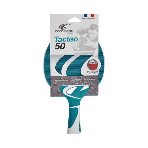 Cornilleau Tafeltennisbat Tacteo Outdoor 50 Turquoise