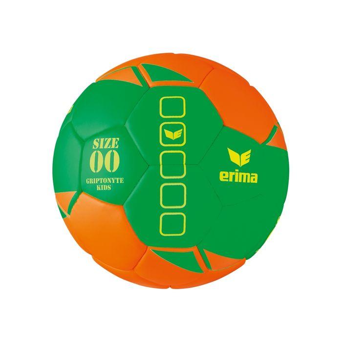 Erima Griptonyte Kids Lite Handbal Oranje-Groen (Maat 00)