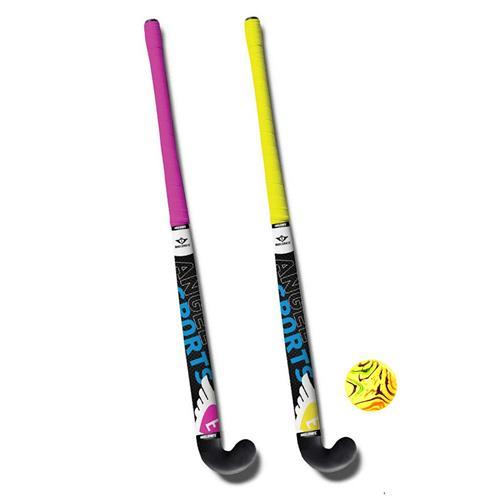 Hockeyset 2 Sticks en Bal 33 inch