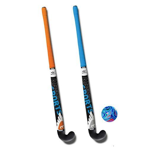 Hockeyset 2 Sticks en Bal 34 inch