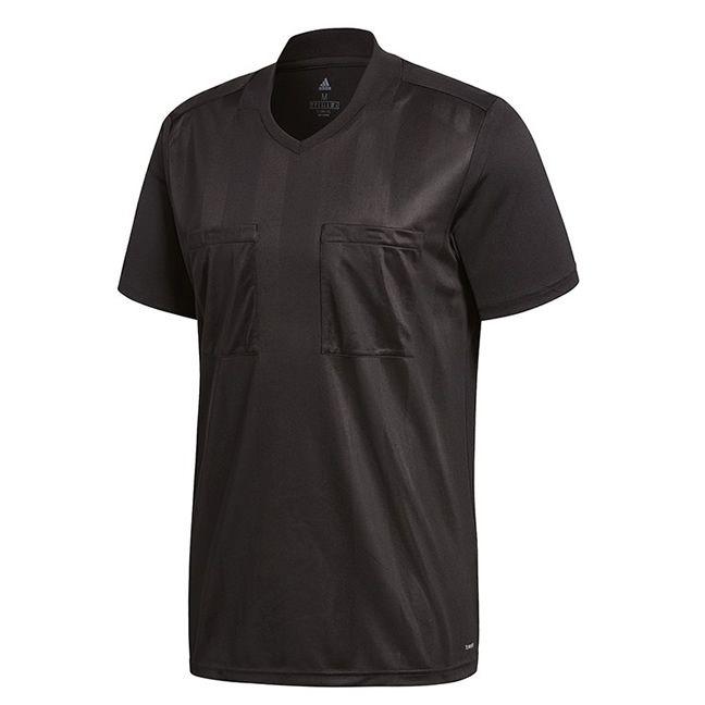 Adidas Referee 18 Scheidsrechter Shirt Korte Mouw Zwart Maat S