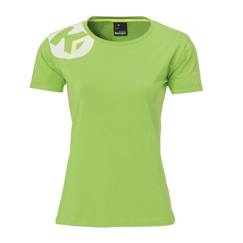 Kempa Core 2.0 T-Shirt Dames Hoop Groen Maat XS