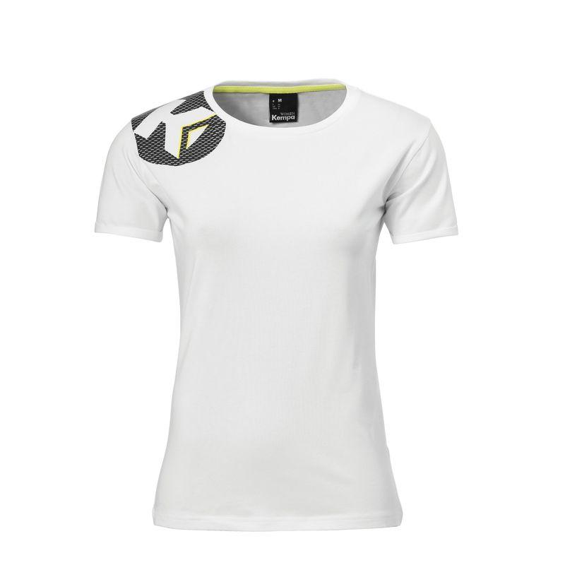 Kempa Core 2.0 T-Shirt Dames Wit Maat XS